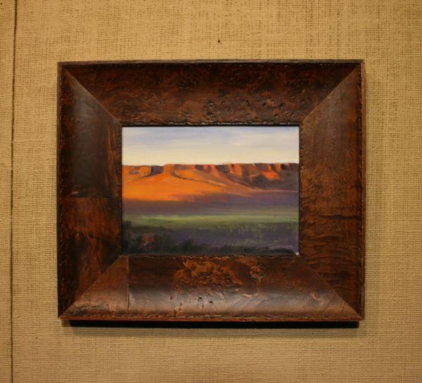 (Frame) Red Bluff by Janice Druian