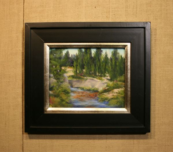 (Frame) Shallow Water by Bonnie Griffith