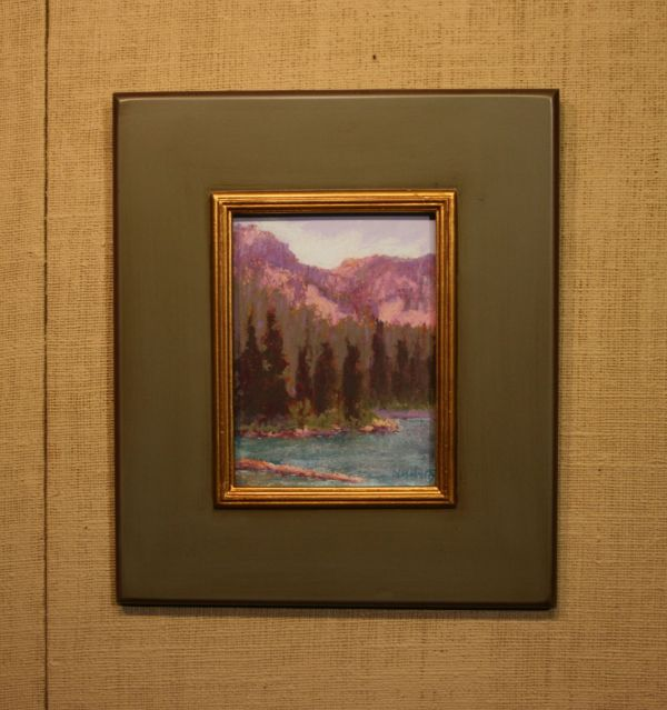 (Frame) Strawberry Lake by Norma Holmes