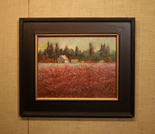 (Frame) Tulip Farm by Sue Bennett