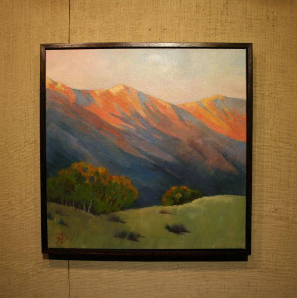 (Frame) Vermillion Peaks by Janice Druian