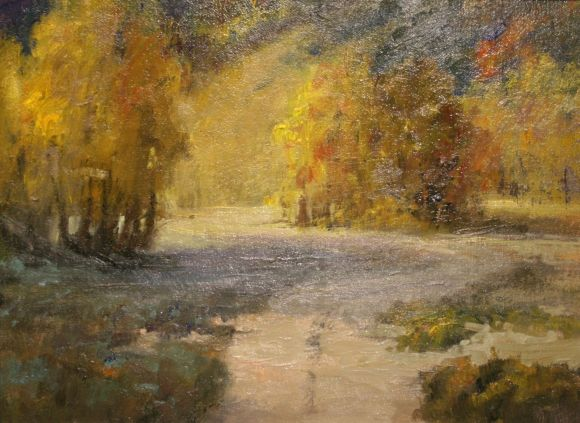 Into the Aspen by Willo Balfrey