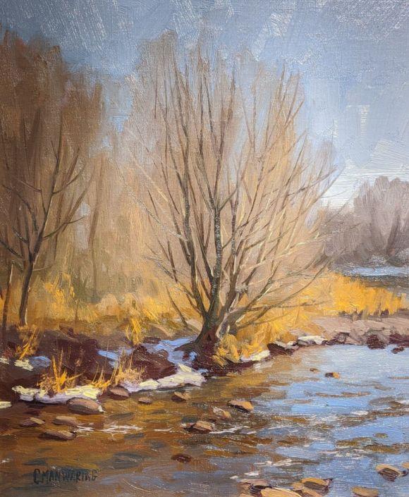 Last Remnants of Winter by Chris Manwaring