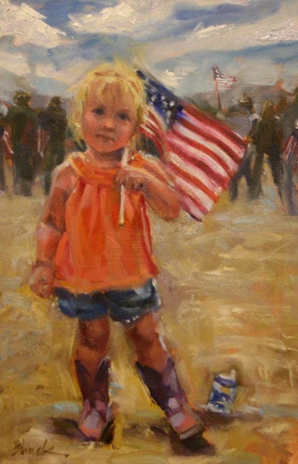 Little Patriot by Vicki Shuck