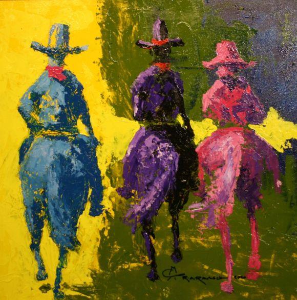 Three Horsemen by Ron Raasch