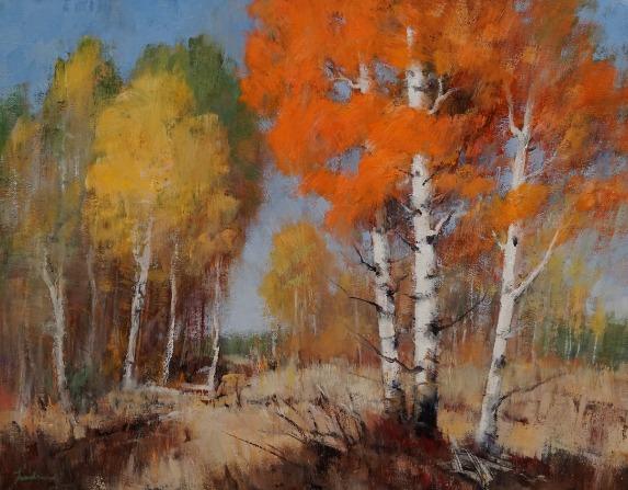 Aspen Spectrum, Klamath Basin by Dale Landrum