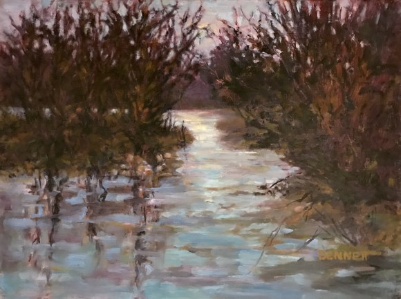 Evening Reflections by Sue Bennett