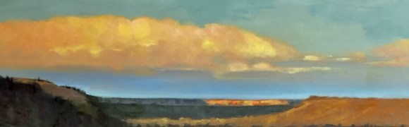 Late Afternoon over the Deschutes by Janice Druian