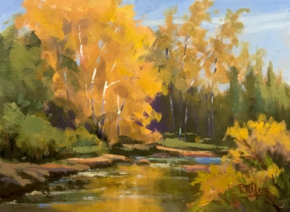Peace on the Stream by Randall Tillery