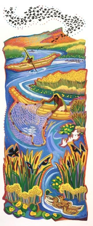 The Fishermen by Vicki Shuck