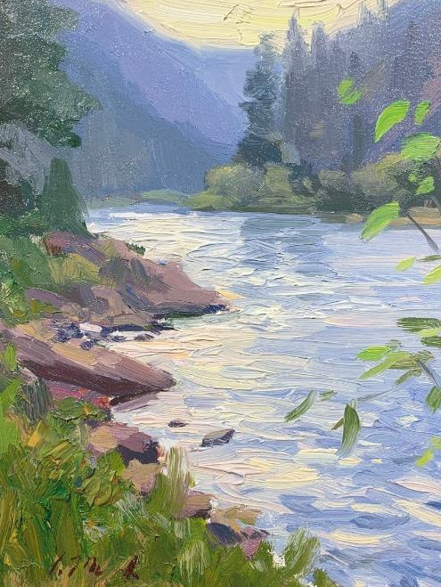 Green River Morning by Chris Manwaring