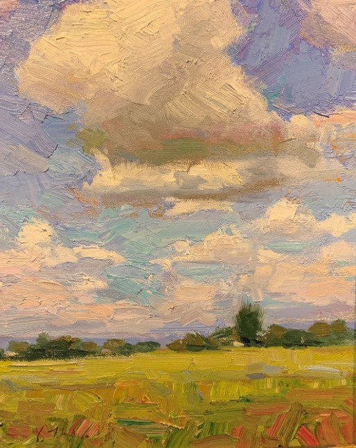 High Mountain Sky by Chris Manwaring