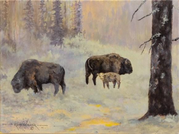 Morning Meadow by Russ Walker