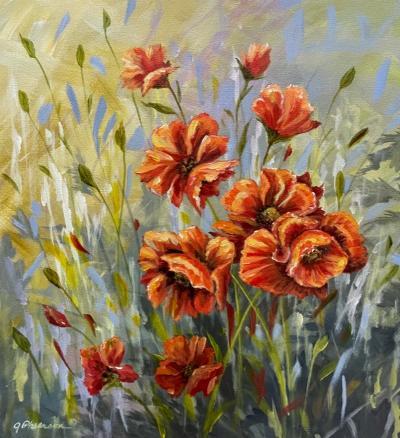 Poppy Delight by Judy Phearson