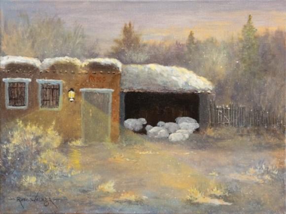Winter Evening by Russ Walker