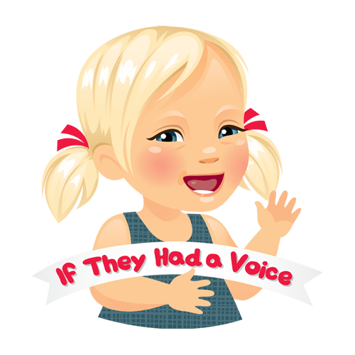 Meet Marley! The girl behind the #IfTheyHadaVoice Movement. She was designed by the lovely Lauren from HeyHeyDesigns.com!!!