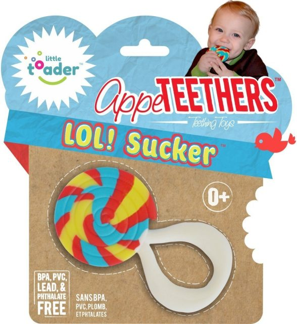 9_Little Toader Appe Teethers LOL Sucker