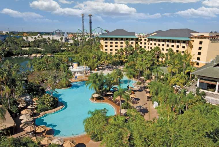 Loew's Royal Pacific Universal Orlando Hotel