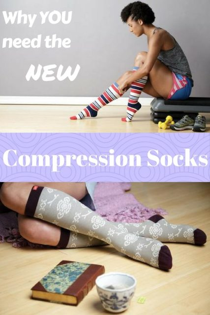 Compresion socks have had an update and you need to try them for sooo many reasons | Favemom.com