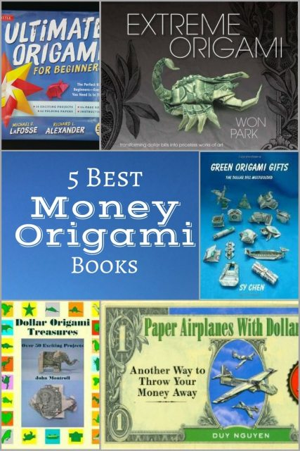 5 best money origami books for making gifts for friends and family