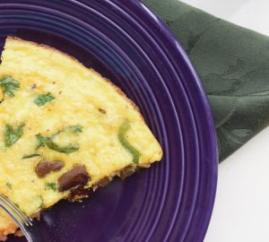 Green Pepper and Sausage Frittata Recipe