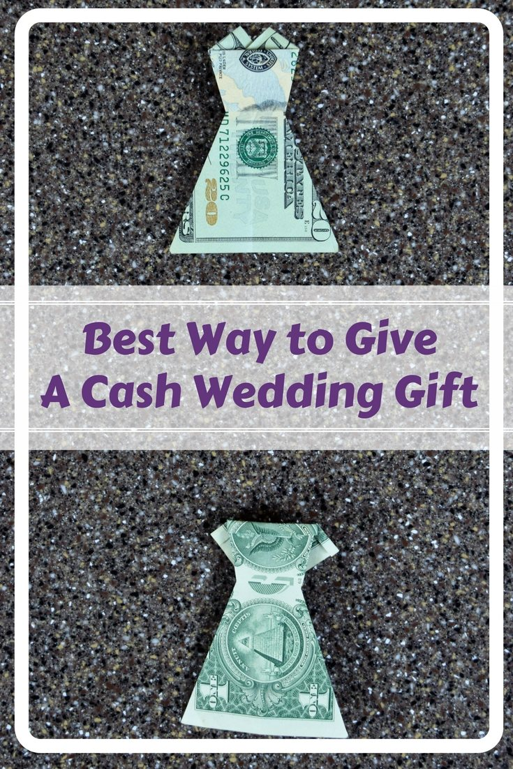 Best Cash Wedding Gift: Money Origami Dress | FaVe Mom