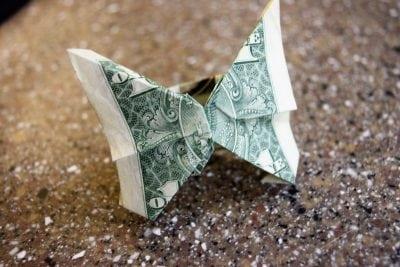 Money Origami Ring 4 Ways   Favemom.com