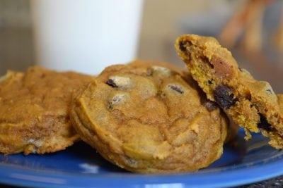 Pumpkin Chocolate Chip Cookies | FaveMom.com