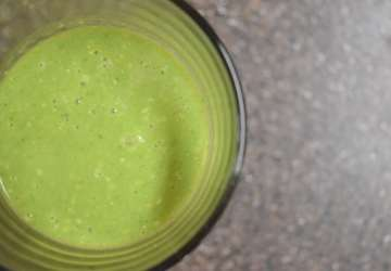 Pina Colada Green Smoothie Recipe | Favemom.com
