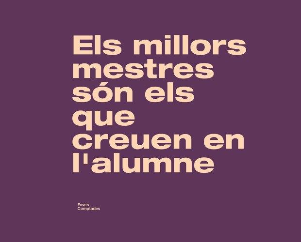 els millors mestres són els que creuen en l'alumne blog faves comptades dites catalanes