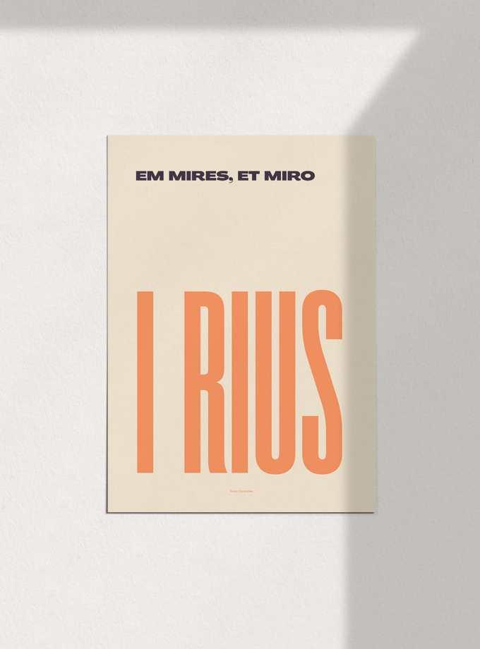 em_mires_et_miro_i_rius_clar_pòsters_en_català_decoracio_favescomptades