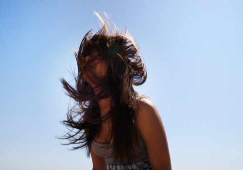 Image result for girl wind blowing hair