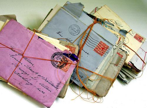 cute, handwritten, letter, letters, love letters. envelope