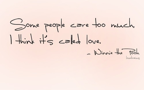 care, disney, love, people, quote