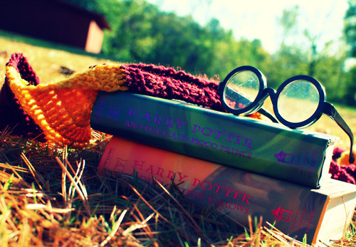 (l), books, harry potter, light