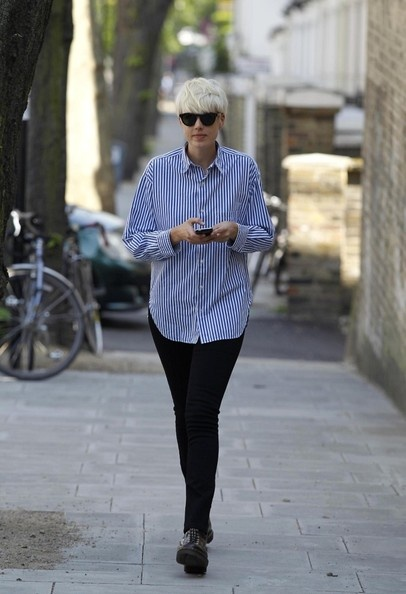 Agyness Deyn Celebrity Models Woman Street Style Fav
