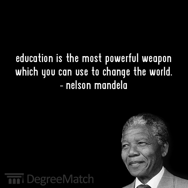Mandelas' quotes about Education, freedom, wisdom, peace .... (1/4)