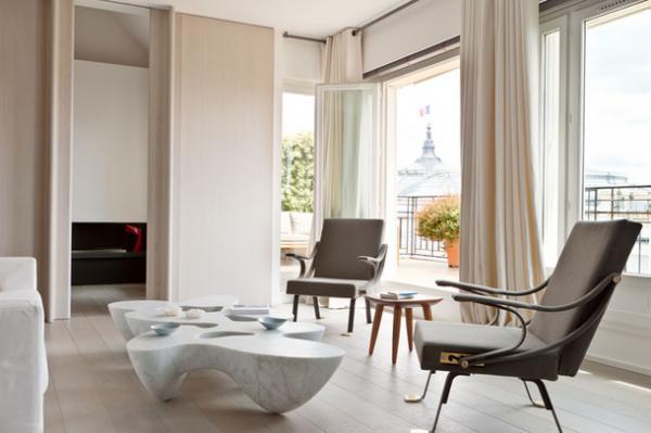 Pastel Apartment In Paris, Interior, Design 3