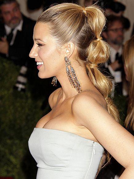 2013 Blake Lively Hairstyle Profile Earrings Fav