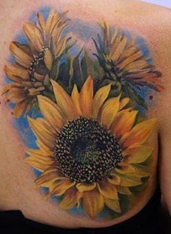 Sunflower Tattoo Designs Ideas Fav Images Amazing