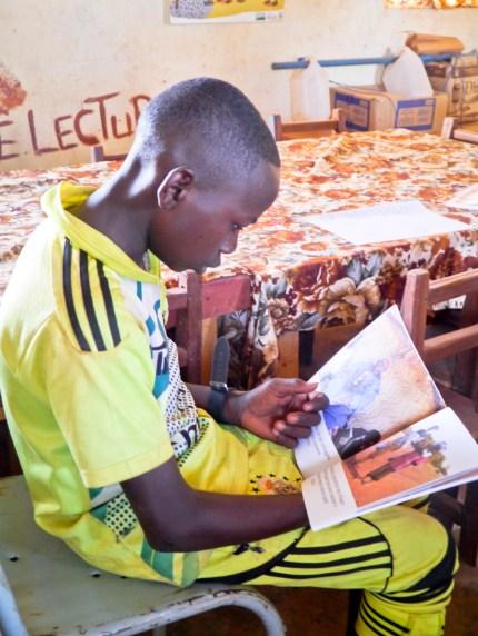 Jeune lecture Guibaré