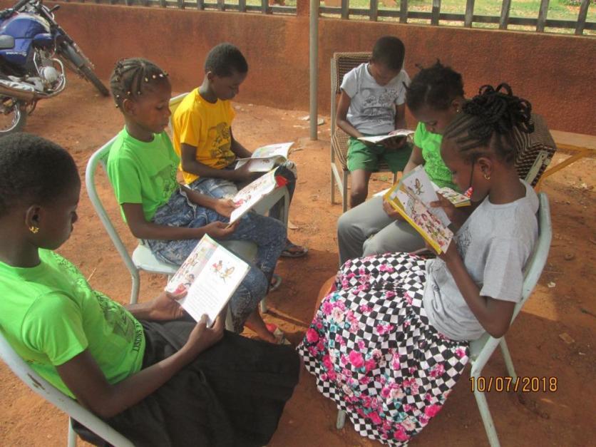 La lecture en groupe sm