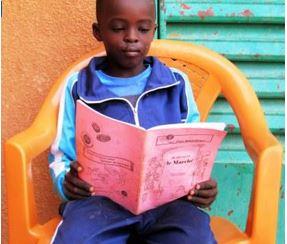 jeune lecteur Ziga