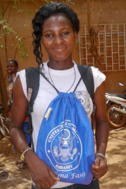 Une participants du programme a Kongoussi