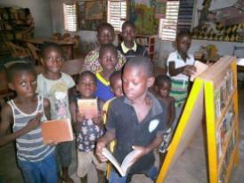 Les jeunes lecteurs sont impatients de retrouver leur cadre d'apprentissage