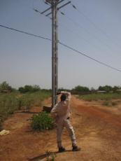 2 Inspection de poteaux pouvant abriter le branchement