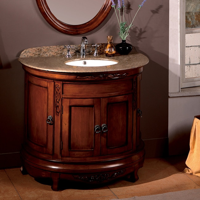 ove decors vivian 36 inch single sink bathroom vanity with granite top favorave