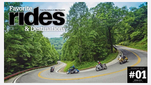 Favorite Rides & Destinations Spring 2016
