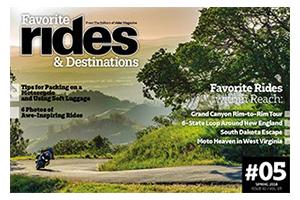 Favorite Rides & Destinations Spring 2018