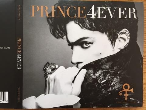 偉大なカリスマ、プリンスのベストアルバム「4EVER」